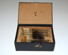 C6 - A wooden box of glass microscope slides belonging to Pío del Río-Hortega